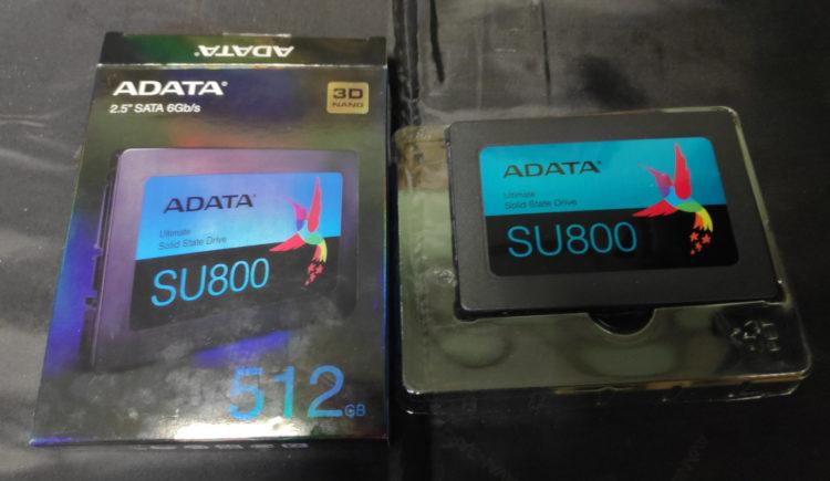 "SSD ADATA 2.5"" Ultimate SU800 512GB SATA3 TLC 3D ASU800SS-512GT-C image 2"