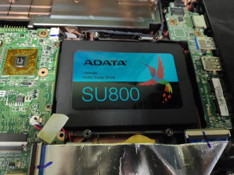 "SSD ADATA 2.5"" Ultimate SU800 512GB SATA3 TLC 3D ASU800SS-512GT-C image 3"
