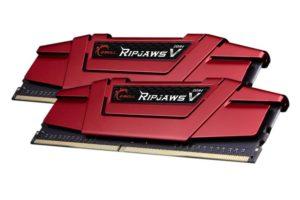 G.SKILL DDR4 16Gb (2x8Gb) 3600MHz PC-28800 RIPJAWS V Red
