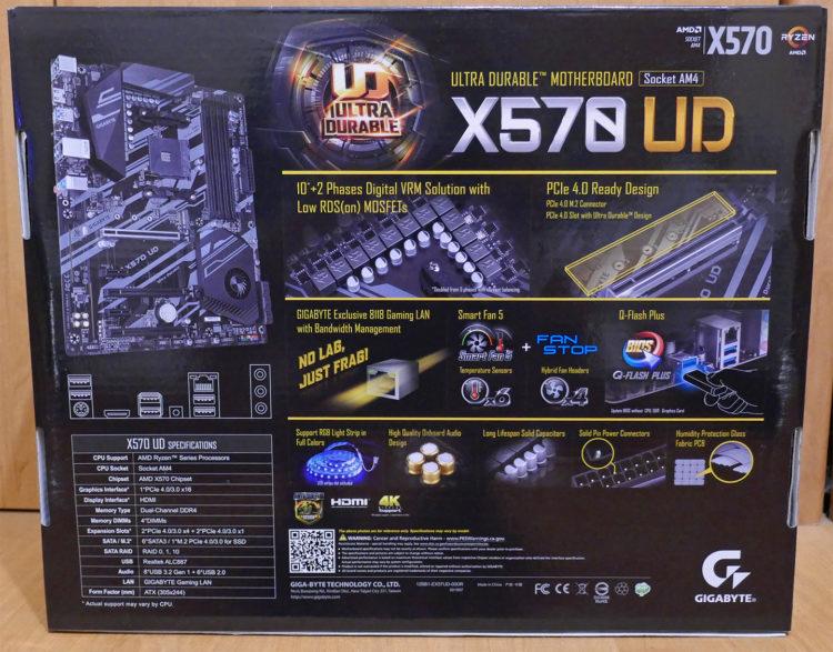 Motherboard GIGABYTE X570 UD image 5