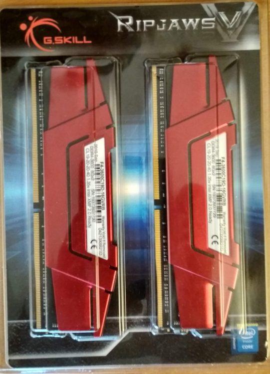 G.SKILL DDR4 16Gb (2x8Gb) 3600MHz PC-28800 RIPJAWS V Red image 7