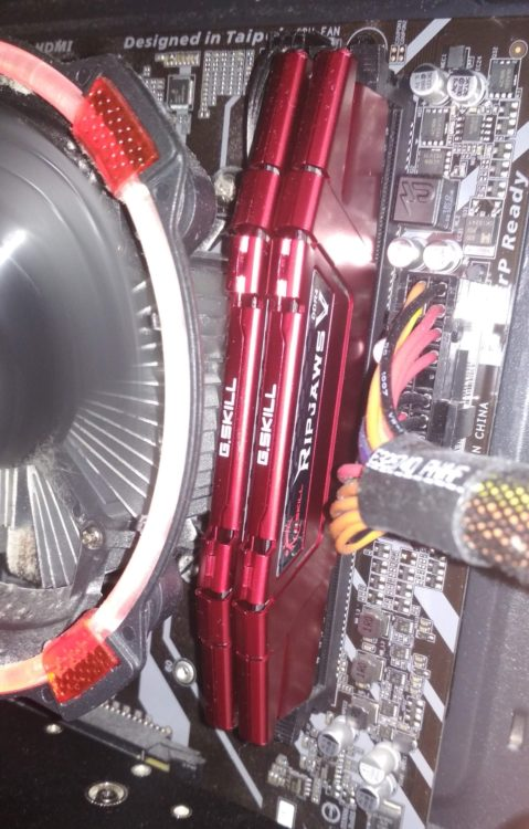 G.SKILL DDR4 16Gb (2x8Gb) 3600MHz PC-28800 RIPJAWS V Red image 8
