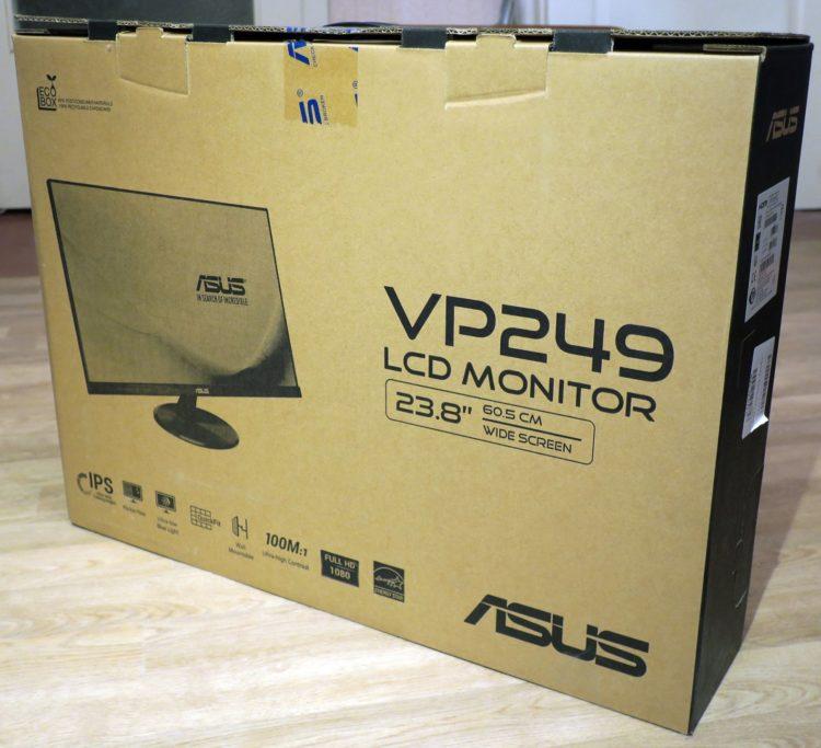 Asus VP249HE Black, image 10