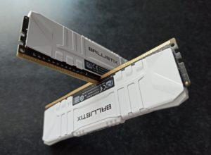 Crucial DDR4 16Gb (2x8Gb) 3000Mhz PC-24000 Ballistix White, image 10