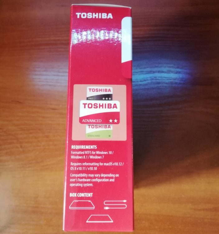 External HDD Toshiba Canvio Advance 2.0TB USB 3.0 BLUE image 10