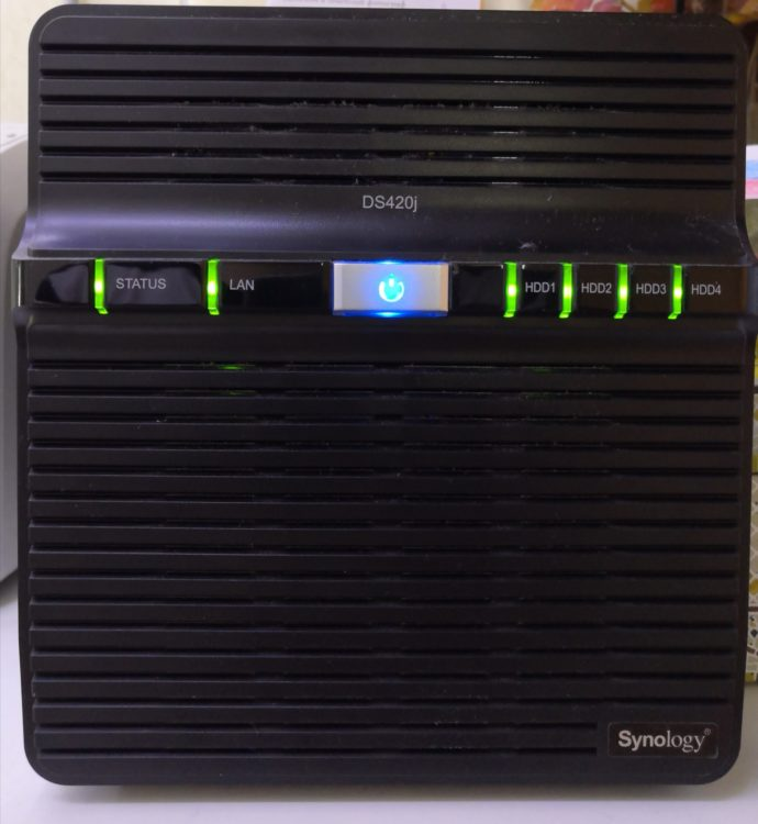 Synology DS420j NAS image 1