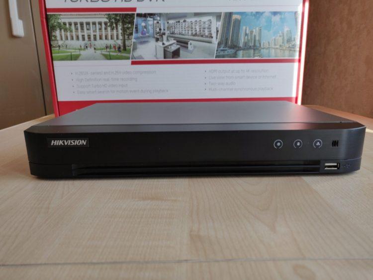 Hikvision DS-7208HQHI-K1 Video Recorder image 1
