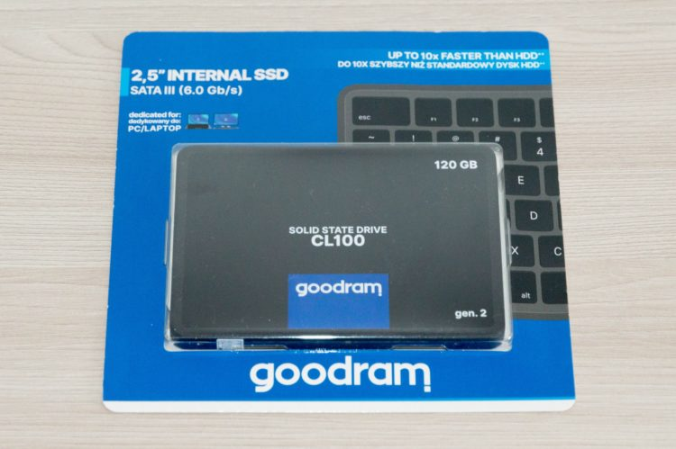 GOODRAM 2.5 SSD СL100 120 GB SATA3 TLC (SSDPR-CL100-120-G2)