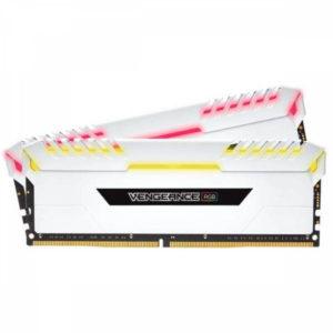 Corsair DDR4 16Gb 2666MHz PC-21300 Vengeance RGB Pro White, image 1