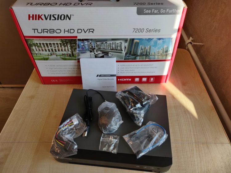 Hikvision DS-7208HQHI-K1 Video Recorder image 2