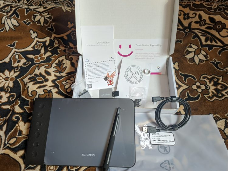 Graphic Tablet XP-Pen Star G640S, image 3