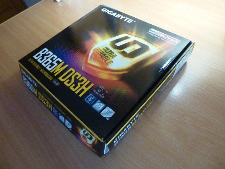Gigabyte B365M-DS3H Box