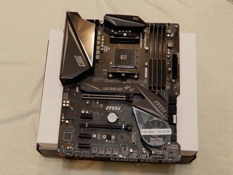 MSI MPG X570 GAMING EDGE WIFI image 40