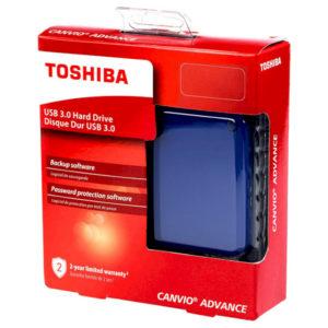External HDD Toshiba Canvio Advance 2.0TB USB 3.0 BLUE