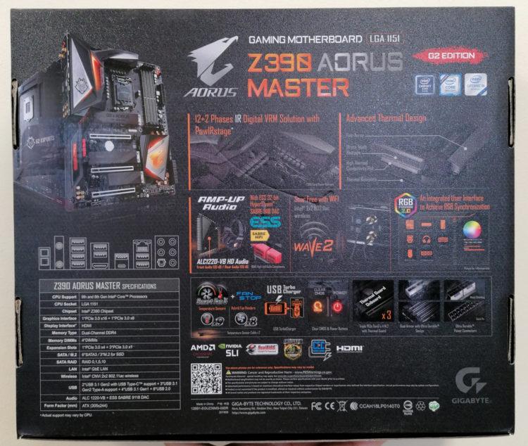 Gigabyte Z390 AORUS MASTER G2, image 4