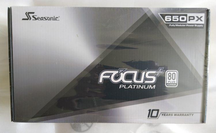 Power Supply SEASONIC Focus Plus SSR-650PX ATX 650W Platinum, image 5