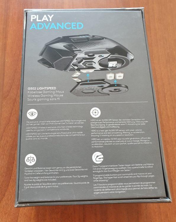 Logitech G502 LIGHTSPEED Wireless Mouse, image 6