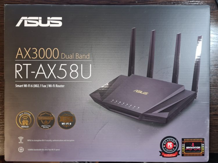 Wi-Fi Asus RT-AX58U Router, image 6