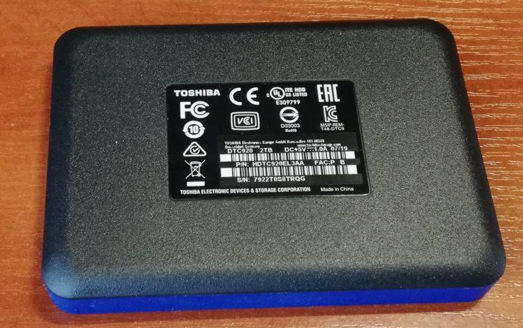 External HDD Toshiba Canvio Advance 2.0TB USB 3.0 BLUE image 7