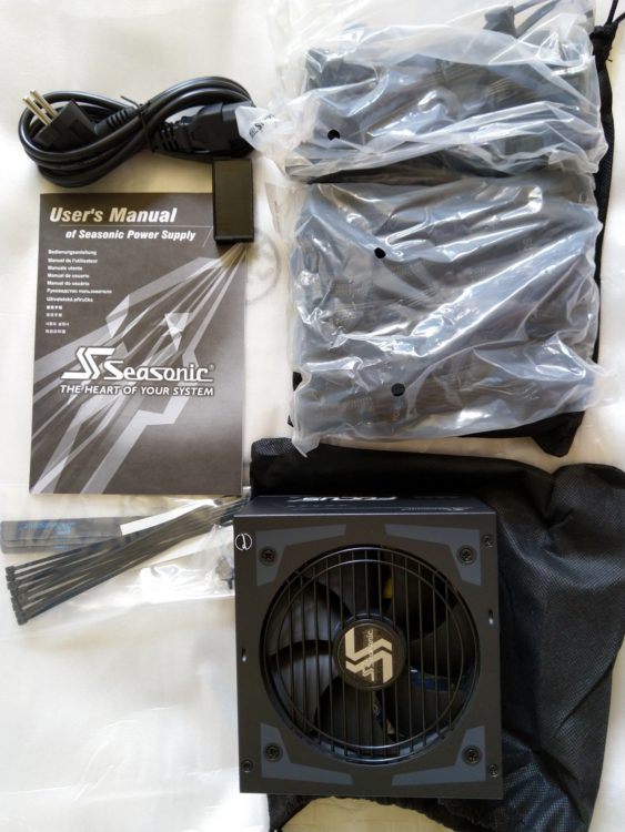 Power Supply SEASONIC Focus Plus SSR-650PX ATX 650W Platinum, image 8