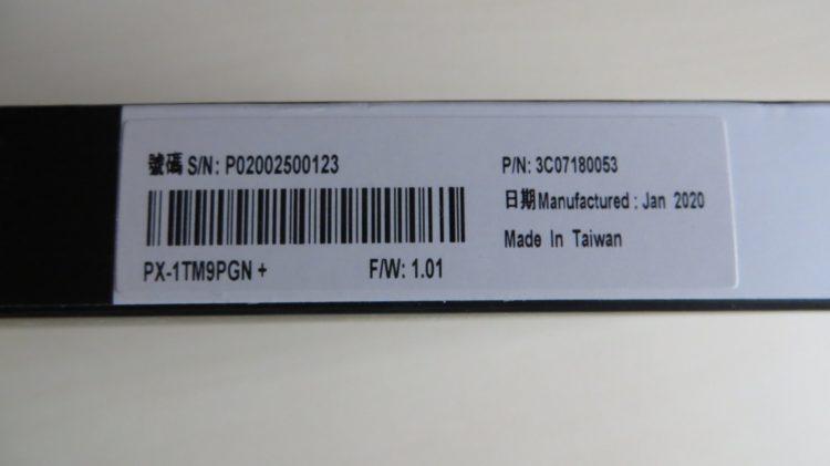SSD Plextor M.2 2280 M9PY Plus 1.0 TB, image 8