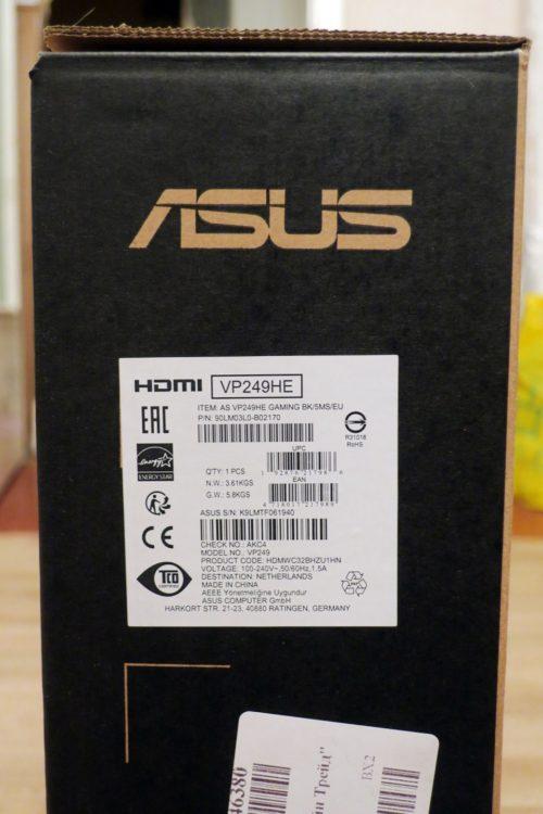 Asus VP249HE Black, image 9