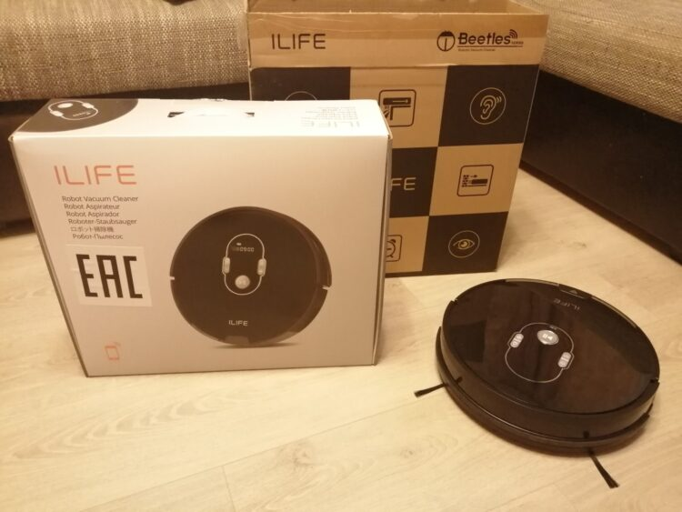 iLife A7 Robot Vacuum Cleaner, image 3
