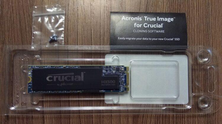 Crucial M.2 MX500 SSD 250GB 2280 SATA3 CT250MX500SSD4, image 6