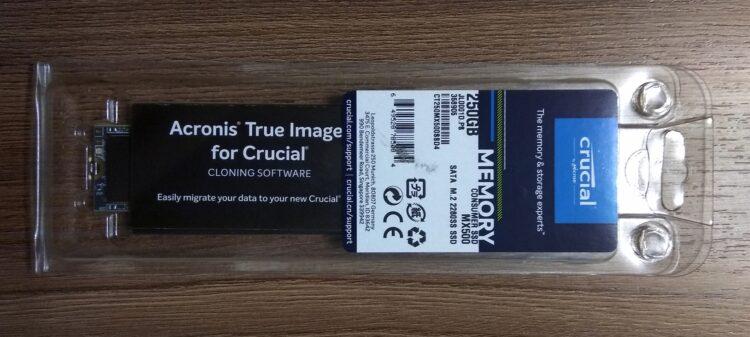 Crucial M.2 MX500 SSD 250GB 2280 SATA3 CT250MX500SSD4, image 7