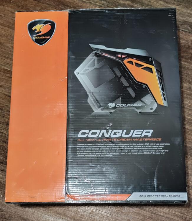 Cougar Conquer Black ATX Window Case, image 3