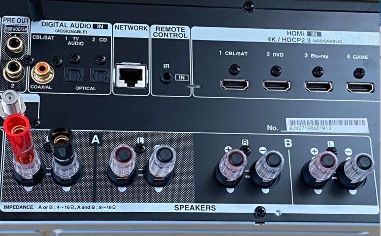 AV Receiver Denon DRA-800H, image 11