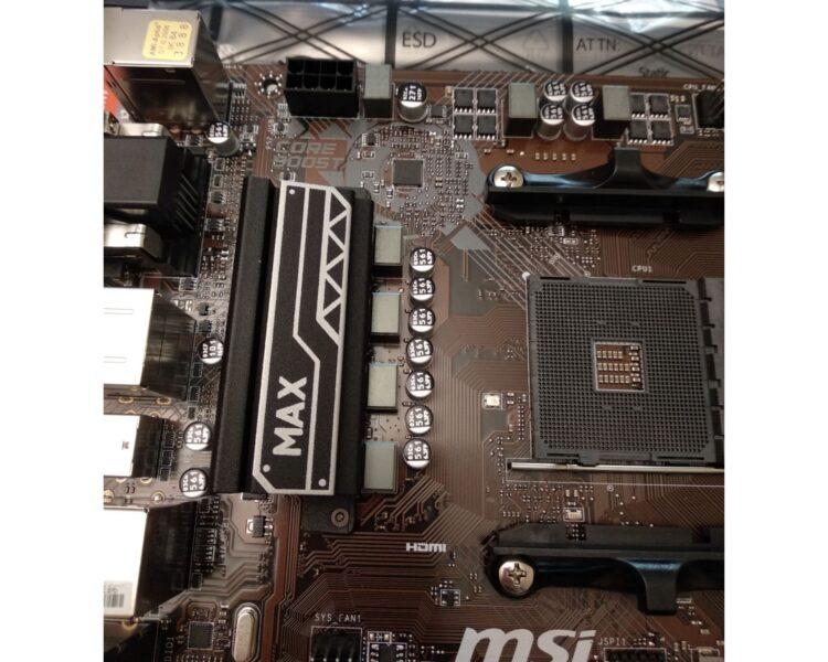 Motherboard MSI B450M PRO-VDH MAX, image 12
