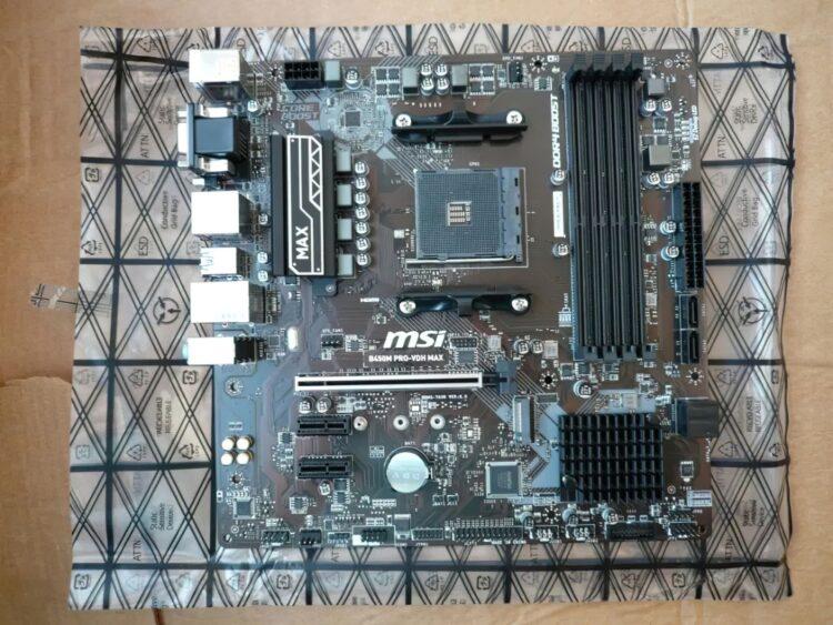 Motherboard MSI B450M PRO-VDH MAX, image 17