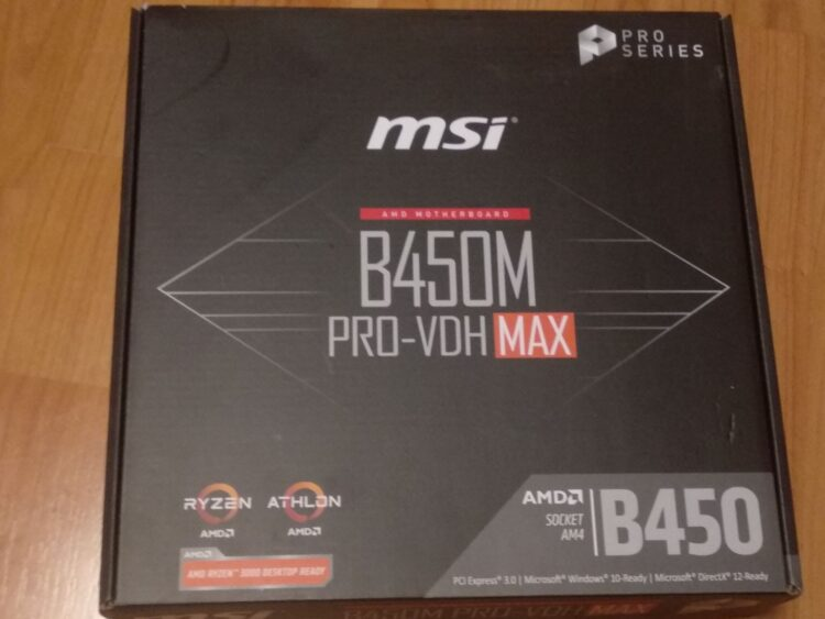 Motherboard MSI B450M PRO-VDH MAX, image 19