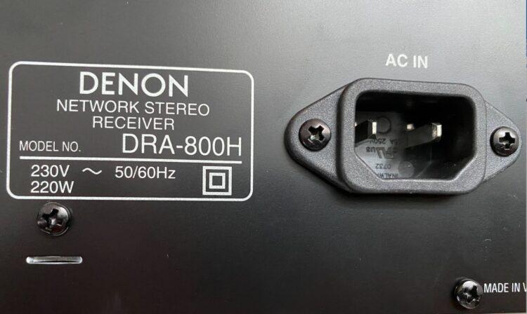 AV Receiver Denon DRA-800H, image 24