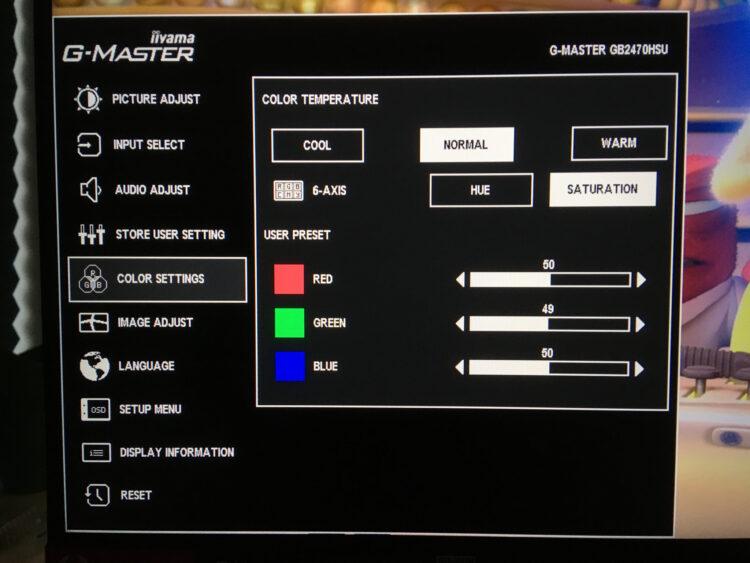 Iiyama G-Master GB2470HSU-B1, image 28