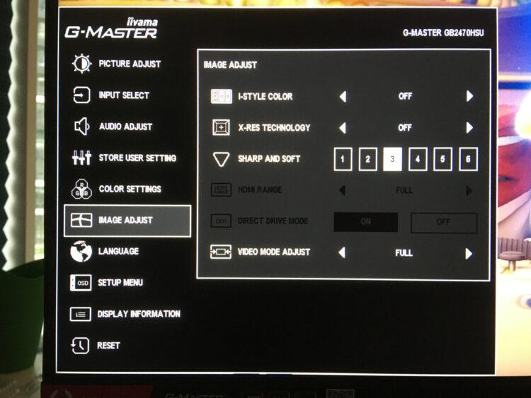 Iiyama G-Master GB2470HSU-B1, image 29