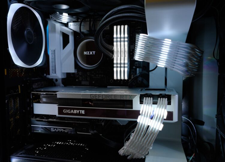 GIGABYTE GeForce RTX 3080 VISION OC 10GB image 10