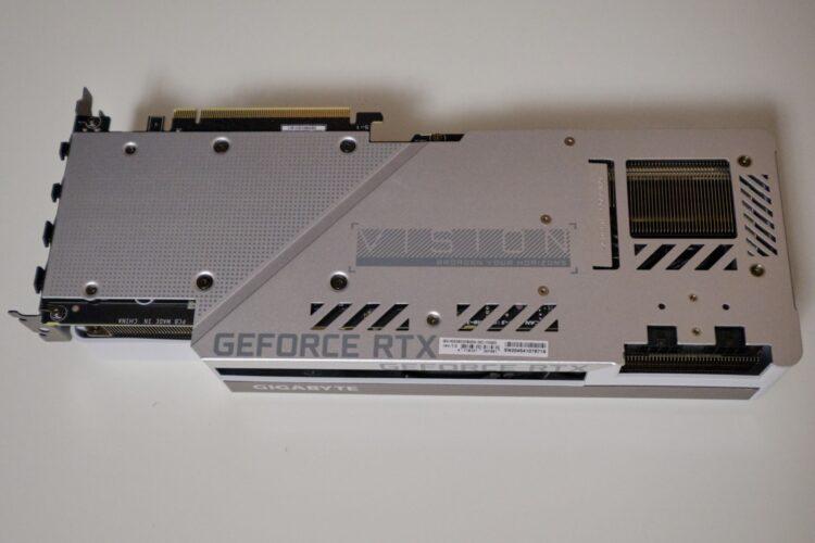 GIGABYTE GeForce RTX 3080 VISION OC 10GB image 8